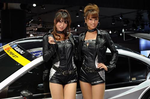 东京车展美女车模清晰图 东京车展