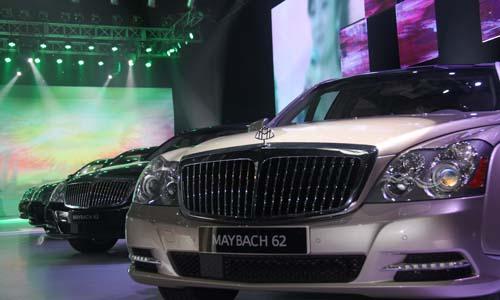 日,超豪华轿车品牌迈巴赫在北京会所(D-新一代迈巴赫 中国华美上