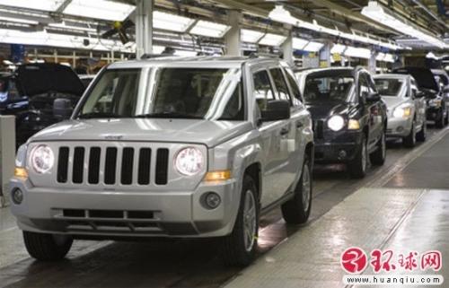 克莱斯勒汽车制造厂高清图片